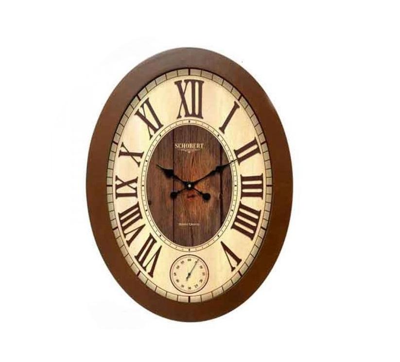 ساعت دیواری چوبی - 6105