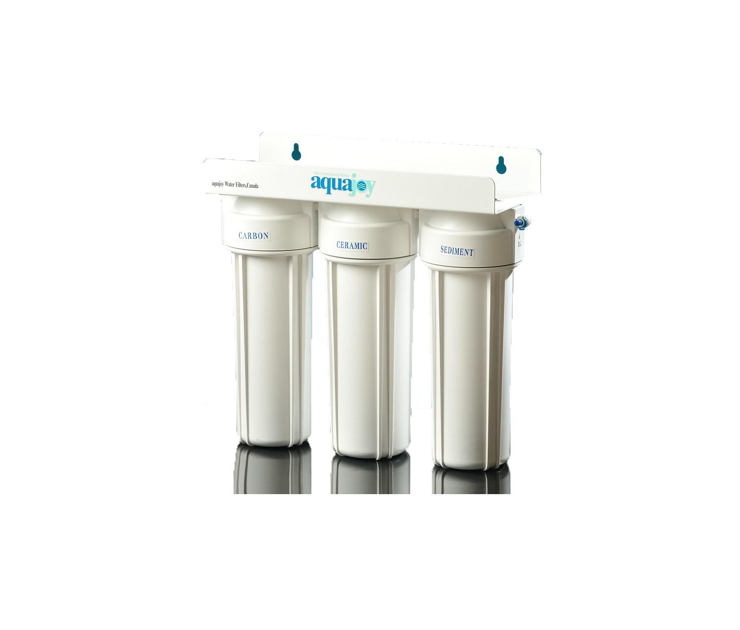 دستگاه تصفیه آب سه مرحله ای - ساده