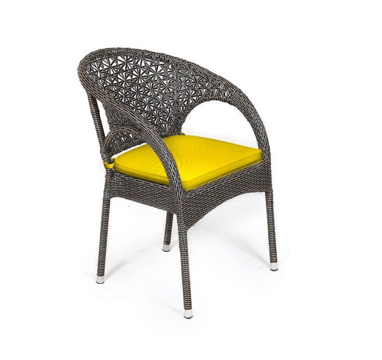 صندلی حصیری بافت ستاره ای مدل سولار
