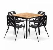 ست میز و صندلی رستورانی - 420