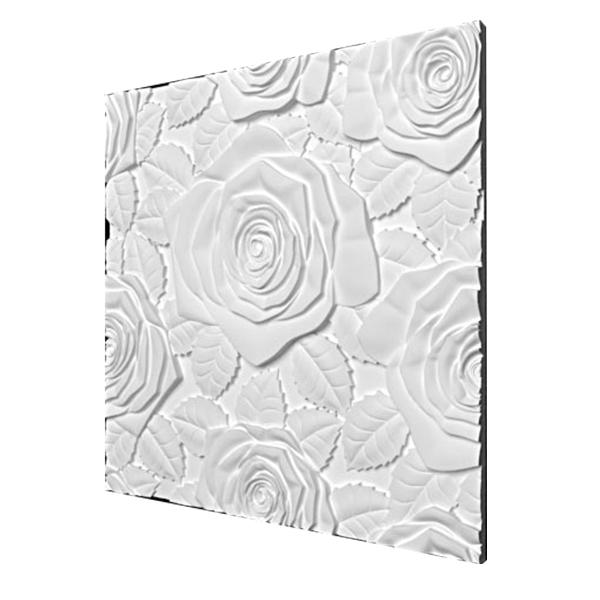 پنل سه بعدی باغ رز