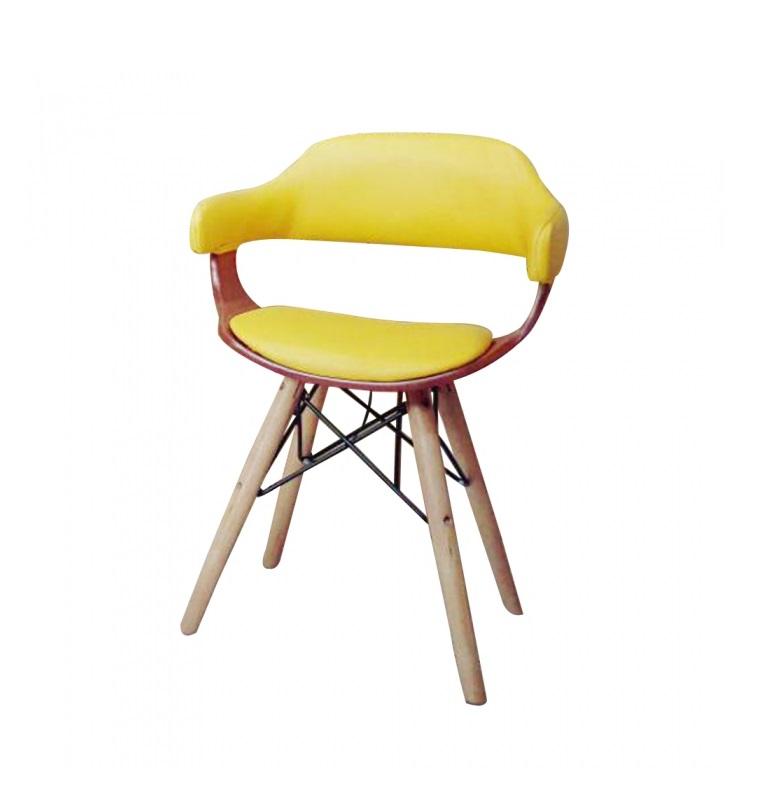 صندلی رستورانی پایه چوبی کوتاه - 2178