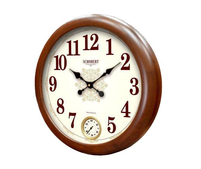 ساعت دیواری چوبی - 5199