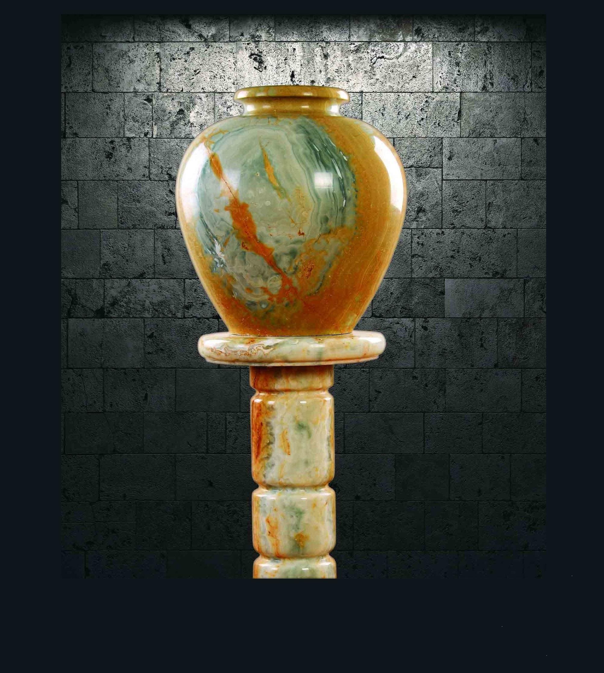 گلدان سنگی - V512