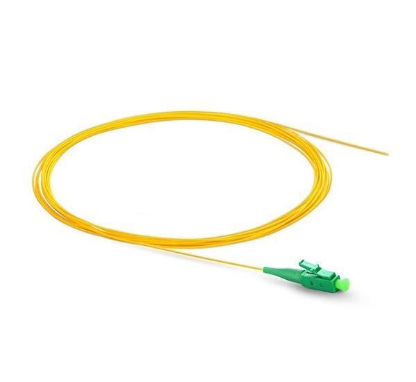پیگتیل فیبر نوری - LC/APC SM LSZH