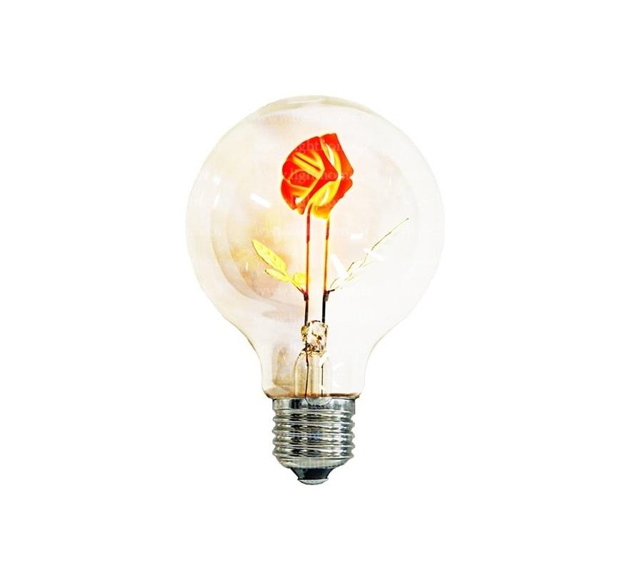 لامپ ادیسونی - Rose Bulb-3w
