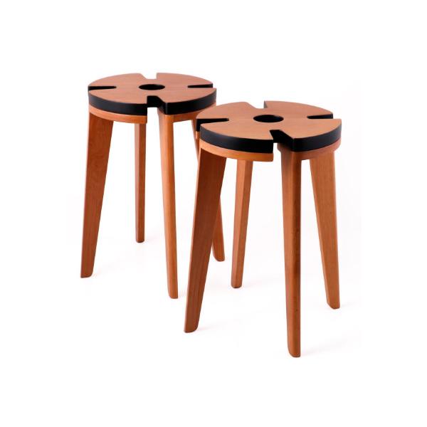 استند گل چوبی - Clover-W2