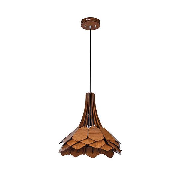 چراغ آویز چوبی - N1511.1H-BR
