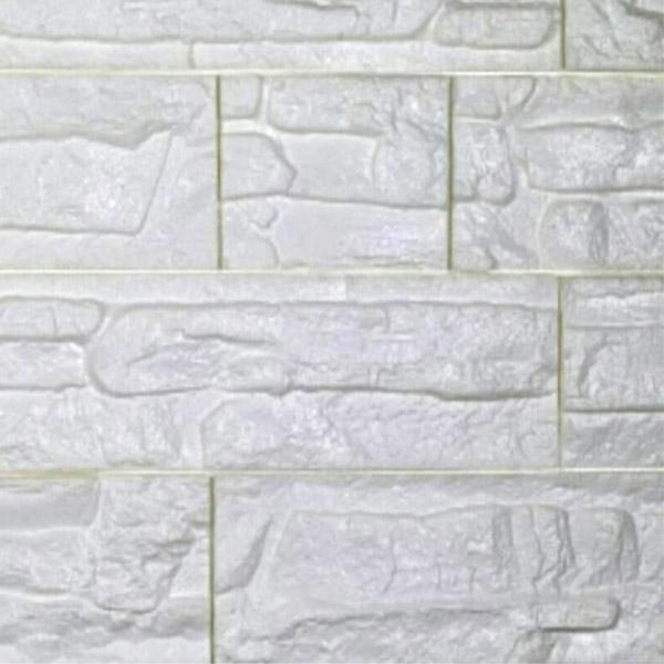 دیوارپوش فومی طرح سنگ آنتیک سفید