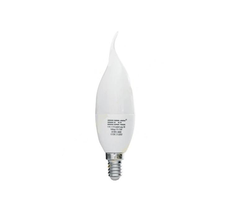 لامپ ال ای دی شمعی - 7watt-E14