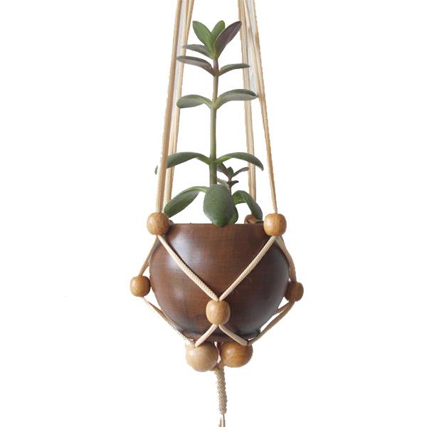آویز نخی گلدان
