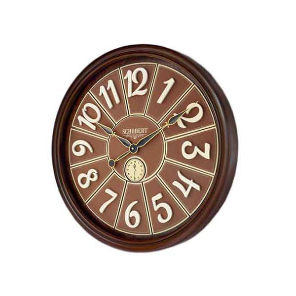 ساعت دیواری چوبی - 6431