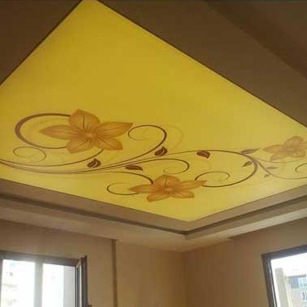 سقف کششی چاپی