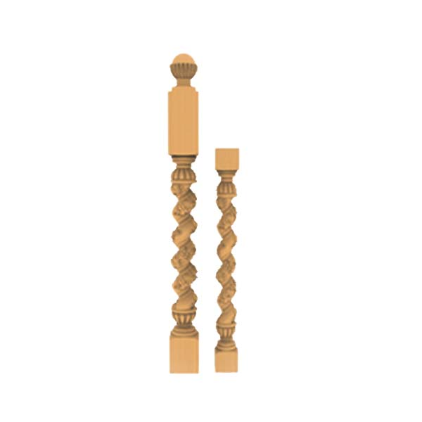 نرده چوبی - N001