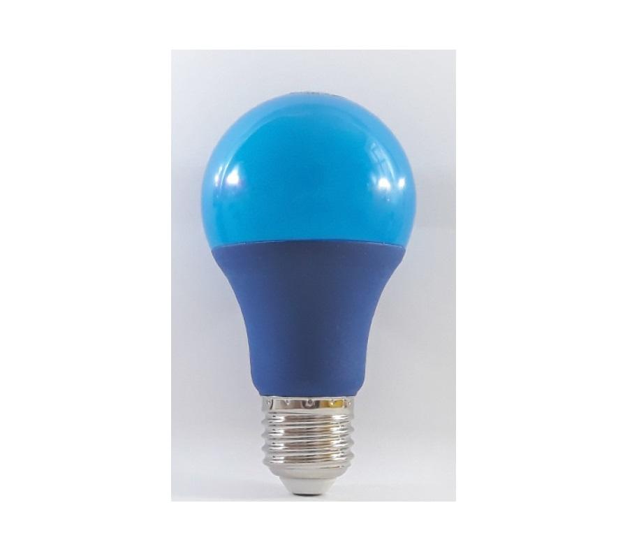 لامپ  ال ای دی حبابی آبی - 9w