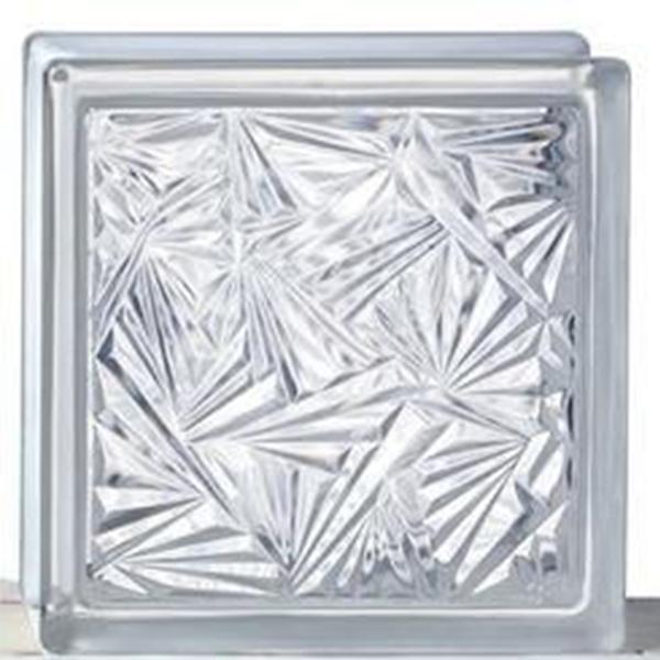 بلوک شیشه ای گل یخ