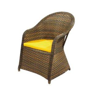 صندلی راحتی حصیری مدل پاتریس