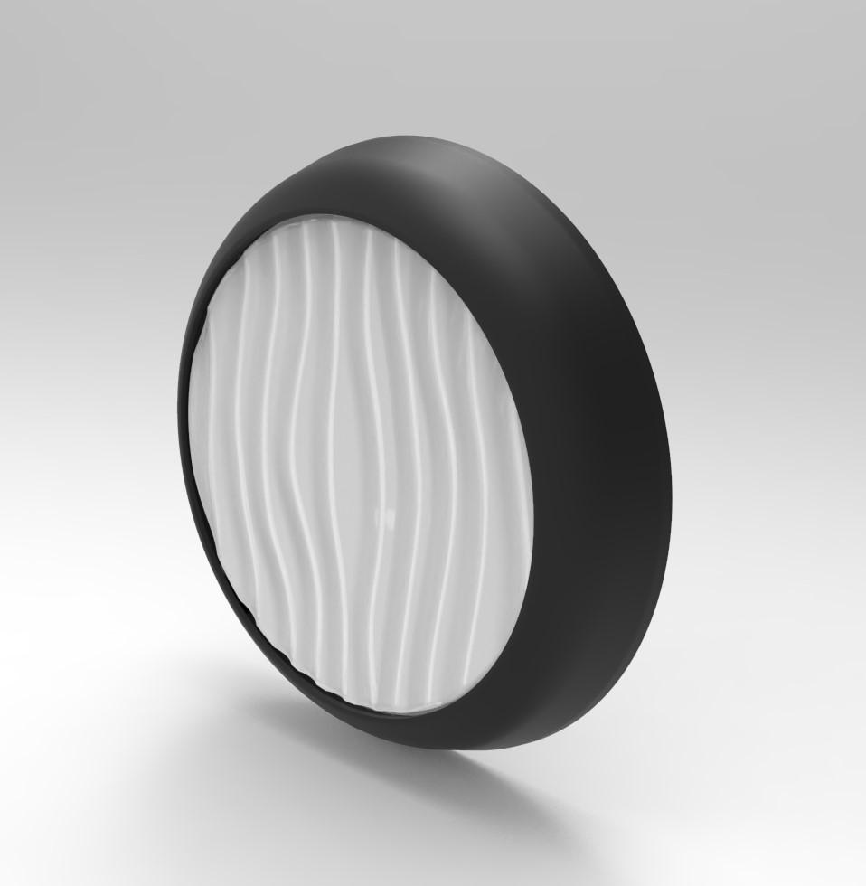 چراغ سقفی گرد - سنسوردار و بدون سنسور- دکوراتیو - SN-105