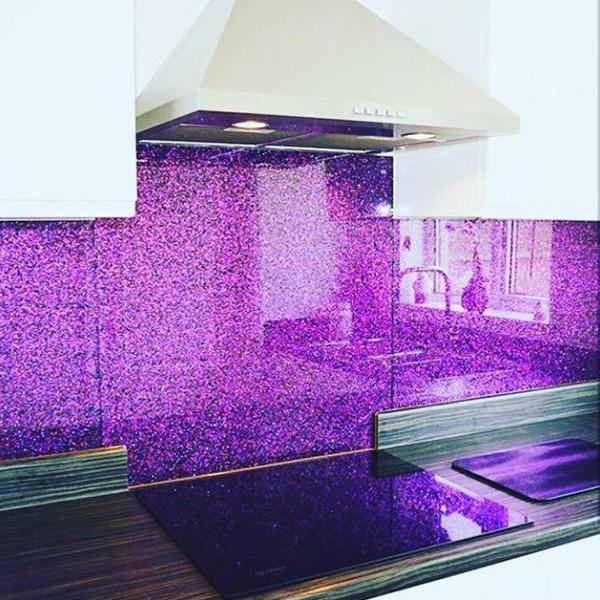 شیشه لاکوبل رنگی - 4mm