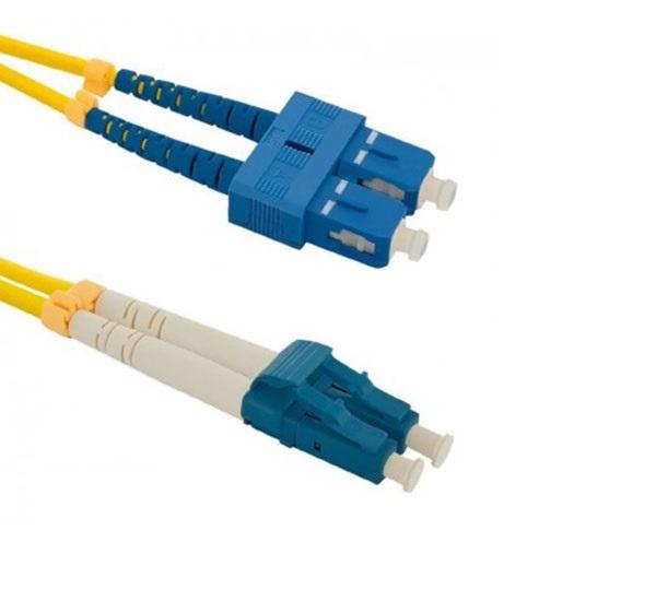 پچ کورد فیبر نوری - SC-LC UPC SM Duplex