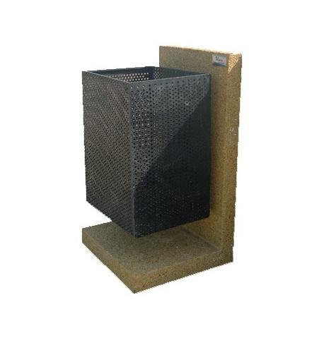 سطل زباله با پایه بتنی - T605
