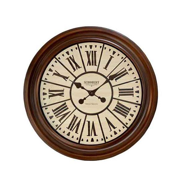 ساعت دیواری چوبی - 6521