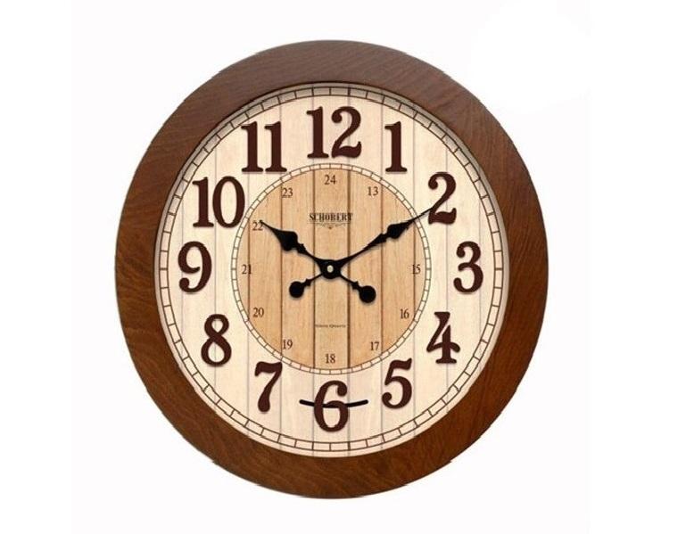 ساعت دیواری چوبی - 6315