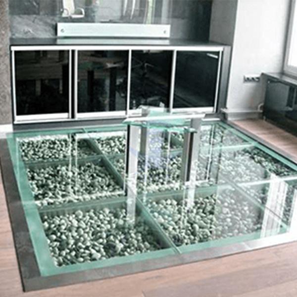 کف کاذب شیشه ای - 50*50