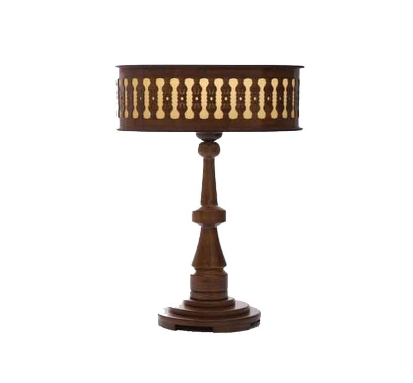 آباژور چوبی رومیزی - 816