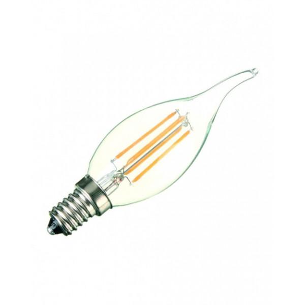 لامپ ال ای دی فیلامنتی - 4watt-E14