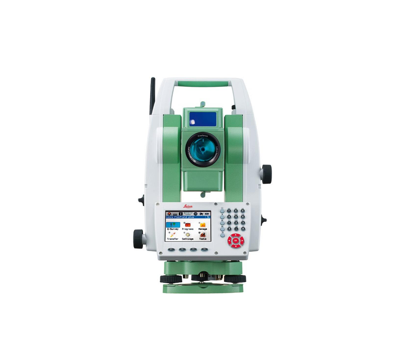 توتال استیشن لیزری - Leica TS09 PLUS R500