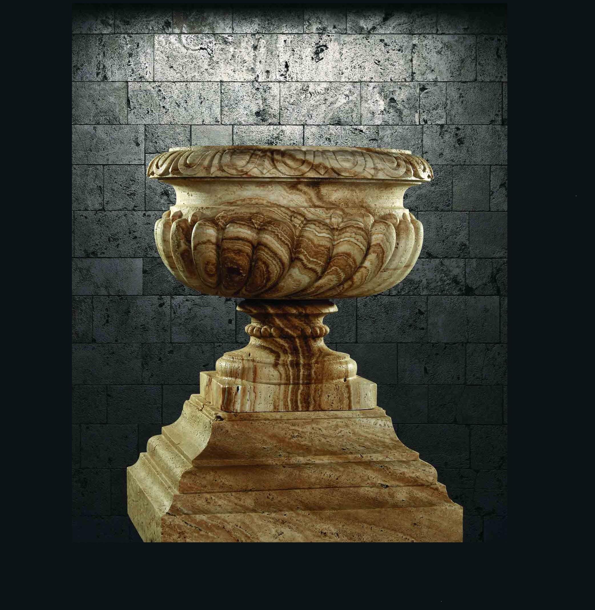 گلدان سنگی - V516
