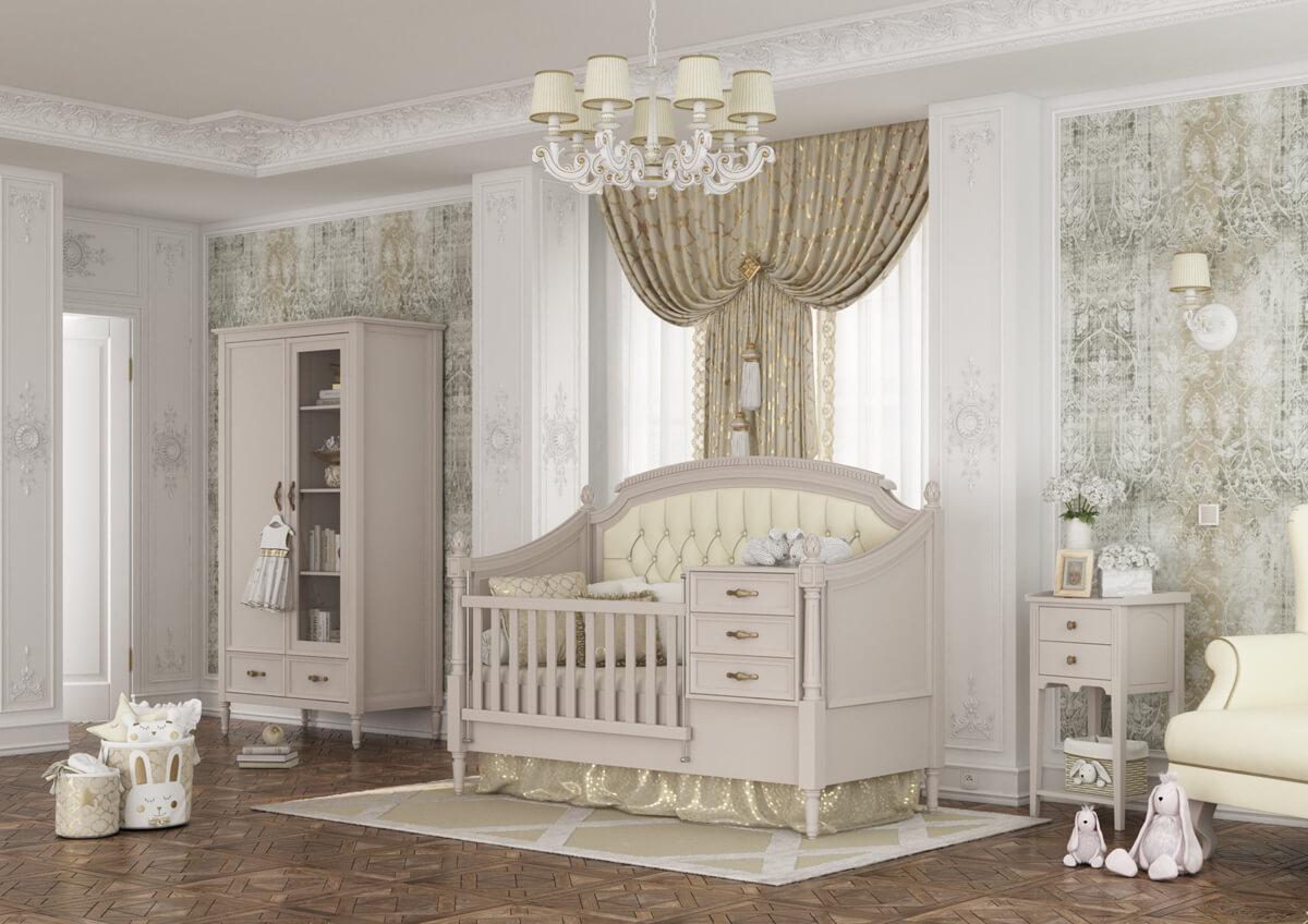 سرویس خواب نوزادی - Pottery