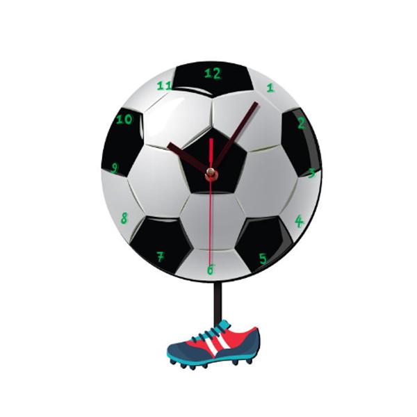 ساعت طرح توپ فوتبال