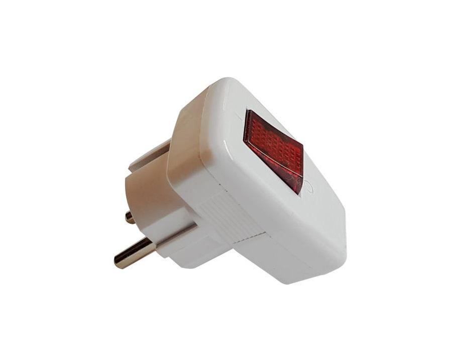 دوشاخه برق کلید دار - Paya