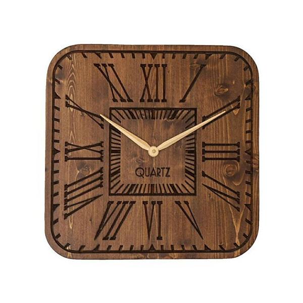 ساعت دیواری چوبی آمستردام