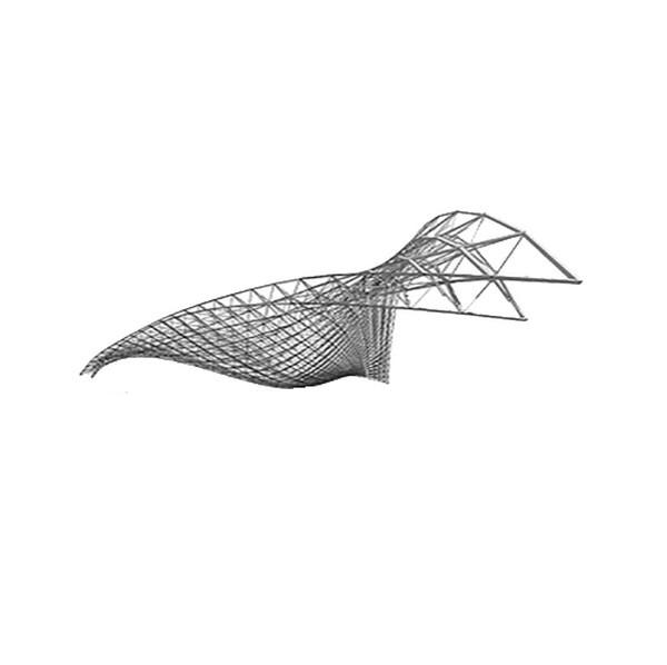 سازه فضایی فرم آزاد