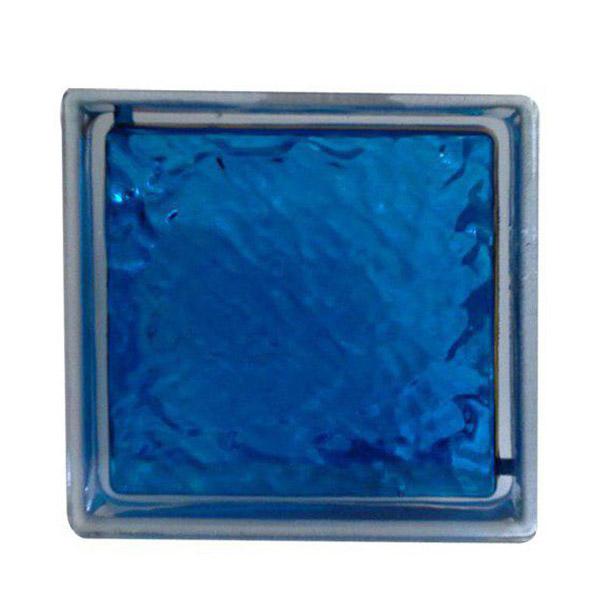 بلوک شیشه ای - blue hummer
