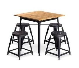 ست میز و صندلی رستورانی - 120