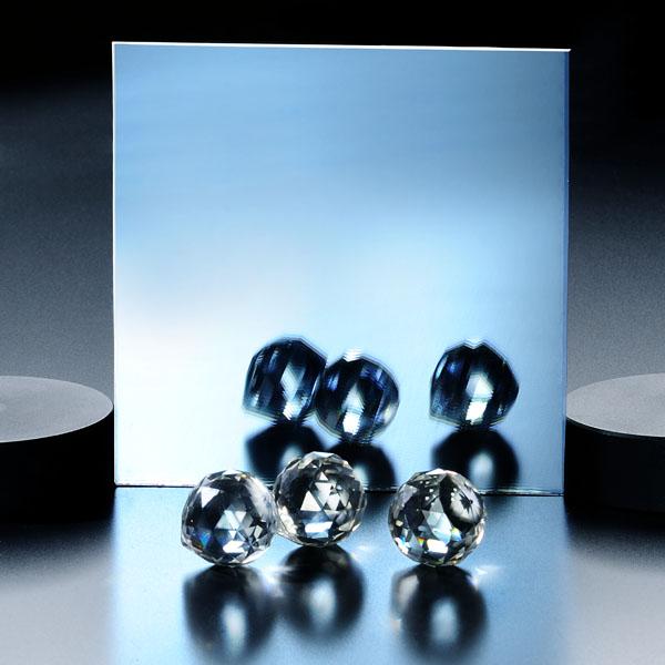 شیشه رفلکس آبی