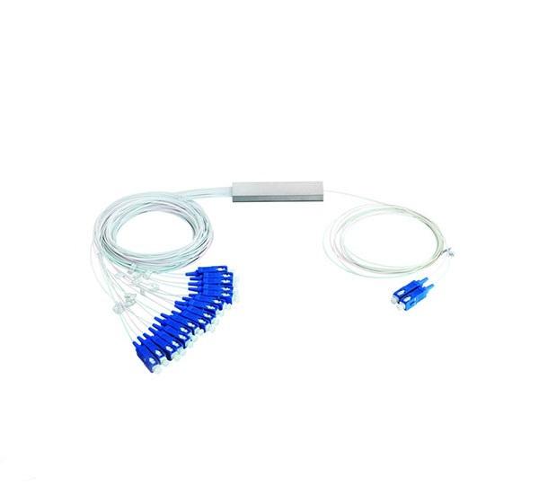 اسپلیتر فیبر نوری - Mini PLC SC-UPC SM 2x8