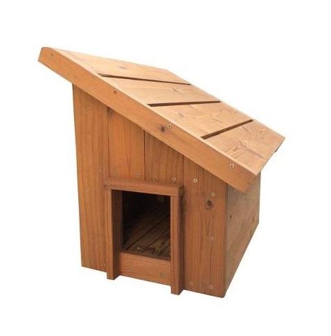 خانه چوبی حیوانات مدل گارنی