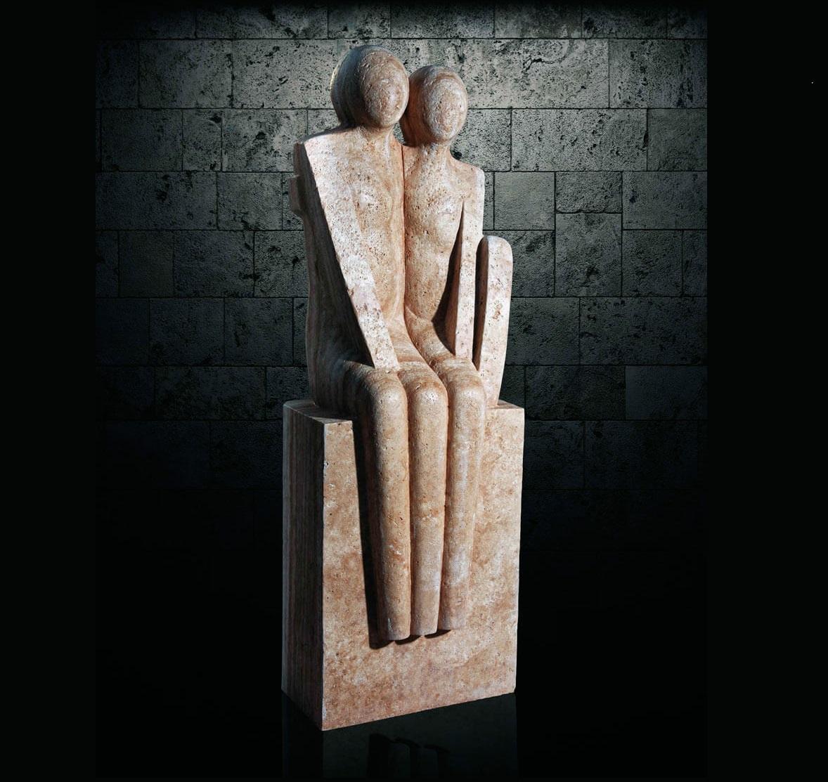 مجسمه سنگی - st229