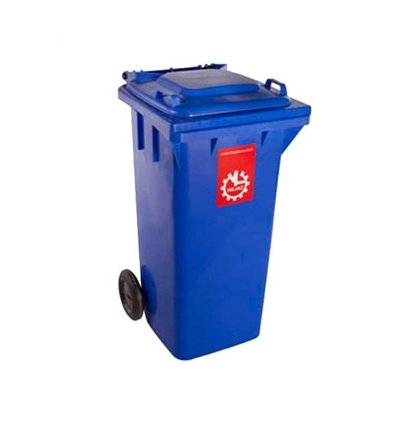 سطل زباله پلی اتیلن 120 لیتر