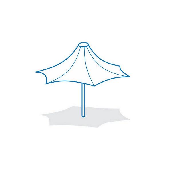سازه چادری چتری