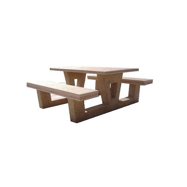 میز و نیمکت سر هم - TB204