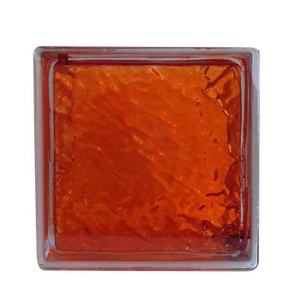 بلوک شیشه ای - orange hummer