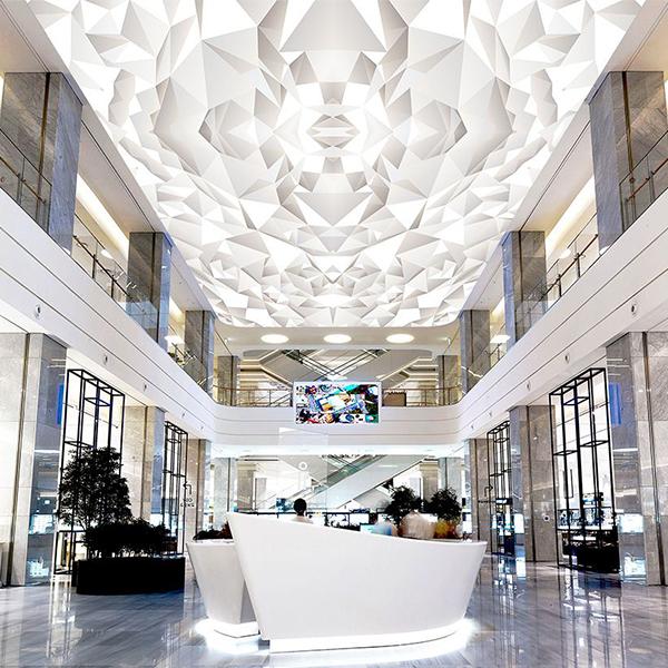 سقف کشسان طرحدار سه بعدی