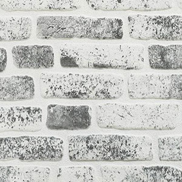دیوار پوش طرح آجر طوسی