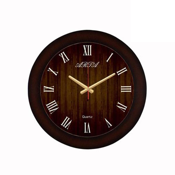 ساعت دیواری چوبی - 305